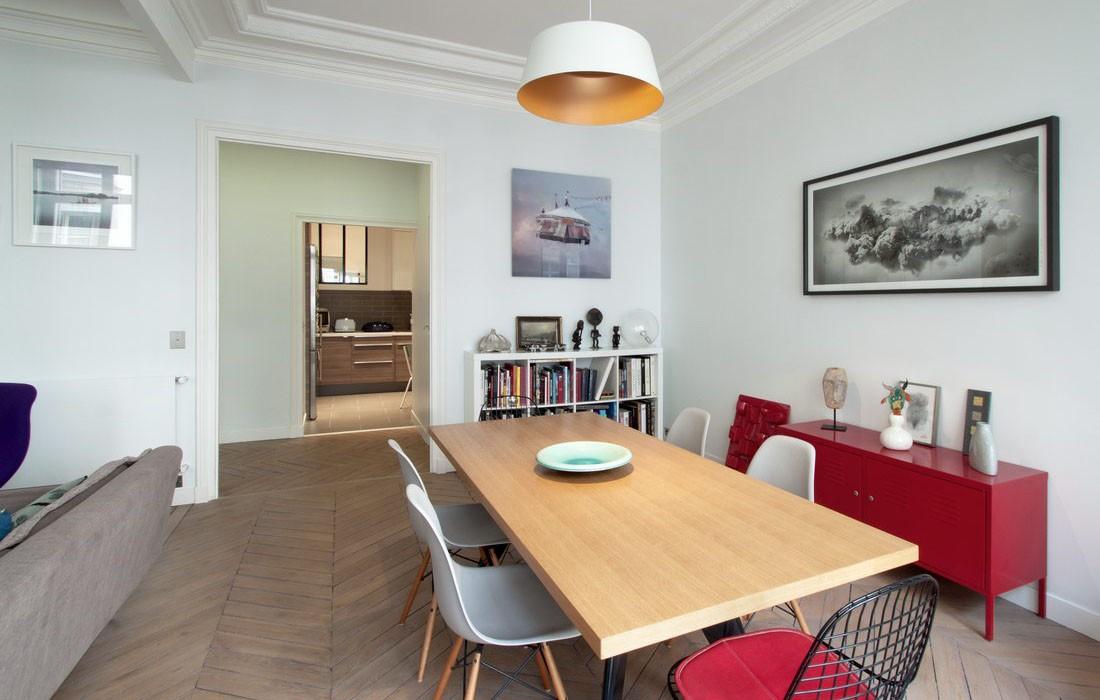 appartement amsterdam feld architecture l architectes paris 75007. Black Bedroom Furniture Sets. Home Design Ideas