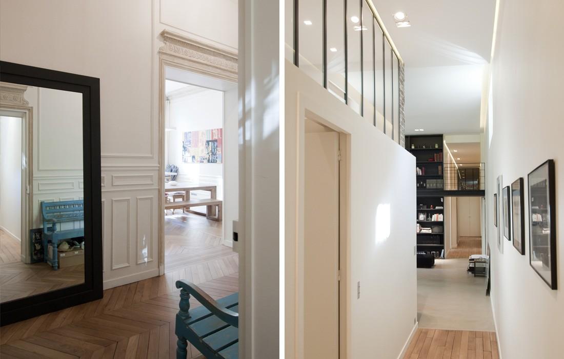 appartement luxembourg feld architecture l architectes paris 75007. Black Bedroom Furniture Sets. Home Design Ideas