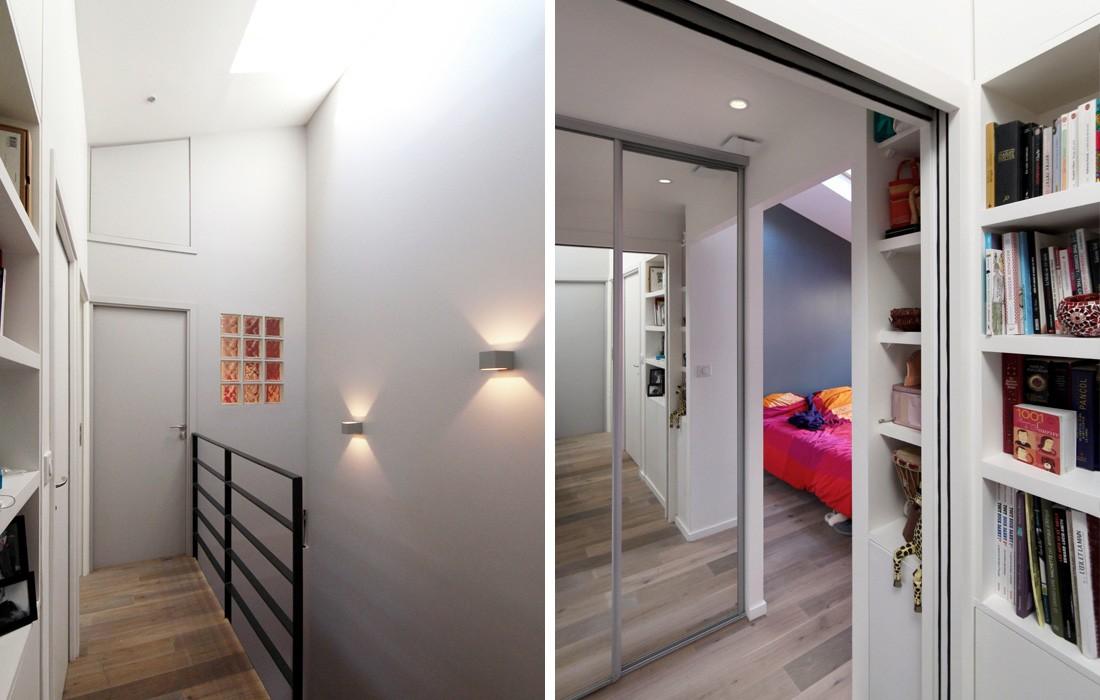 Duplex montreuil feld architecture l architectes - Appartement en duplex abraham architects ...