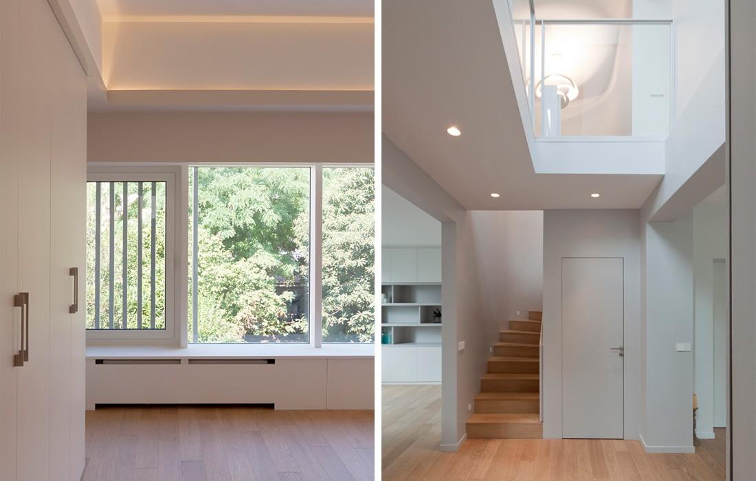Maison courbevoie feld architecture l architectes paris 75007 - Puit de lumiere maison ...