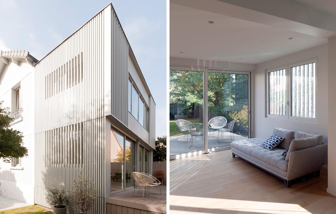 maison courbevoie feld architecture l architectes paris 75007. Black Bedroom Furniture Sets. Home Design Ideas