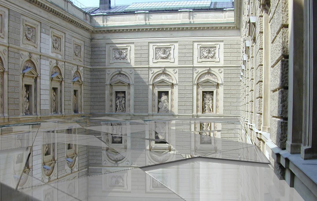 extension mus e d histoire de l art vienne feld architecture l architectes paris 75007. Black Bedroom Furniture Sets. Home Design Ideas