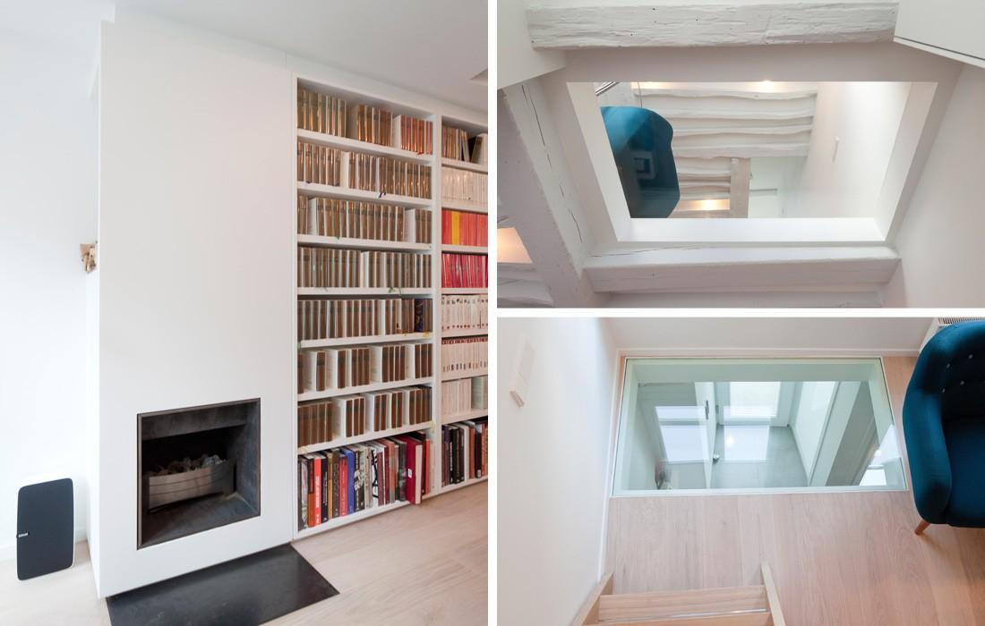 appartement odeon feld architecture l architectes paris 75007. Black Bedroom Furniture Sets. Home Design Ideas
