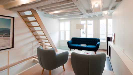 Projets feld architecture l architectes paris 75007 for Architecte interieur luxembourg