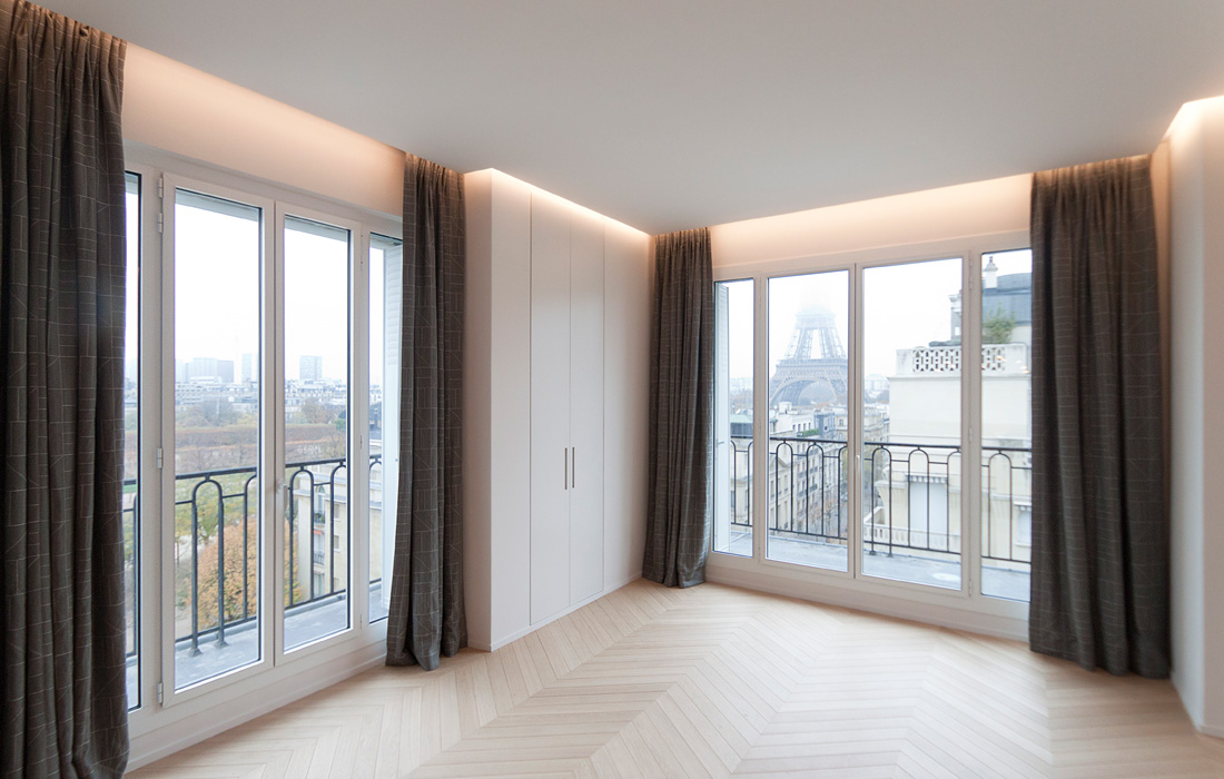 01-Appartement-Champ-de-Mars-FELD Architecture-Architecte-Paris